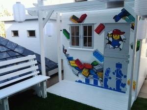 mural lego playhose