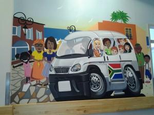 wall Mural Taxi